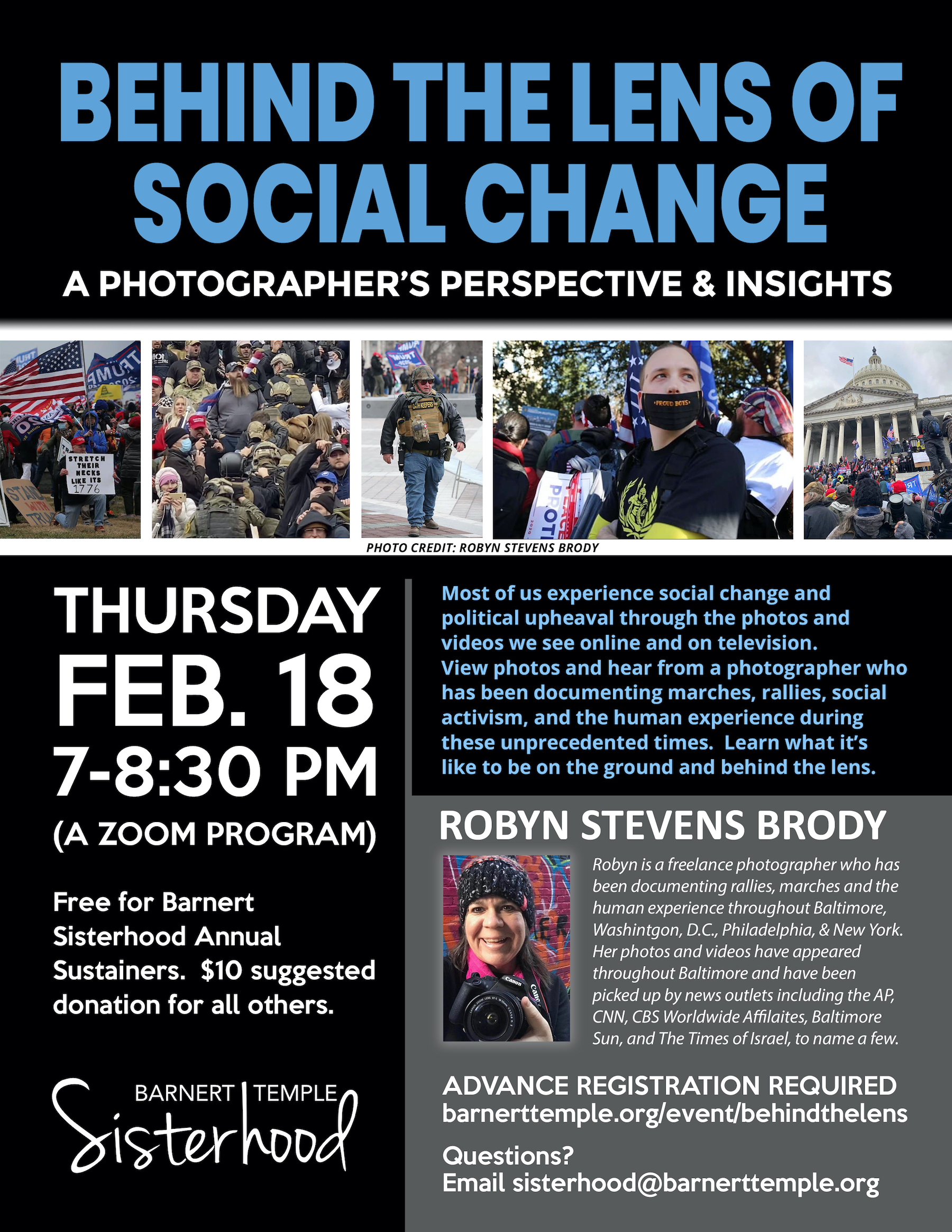 Behind the Lens of Social Change
