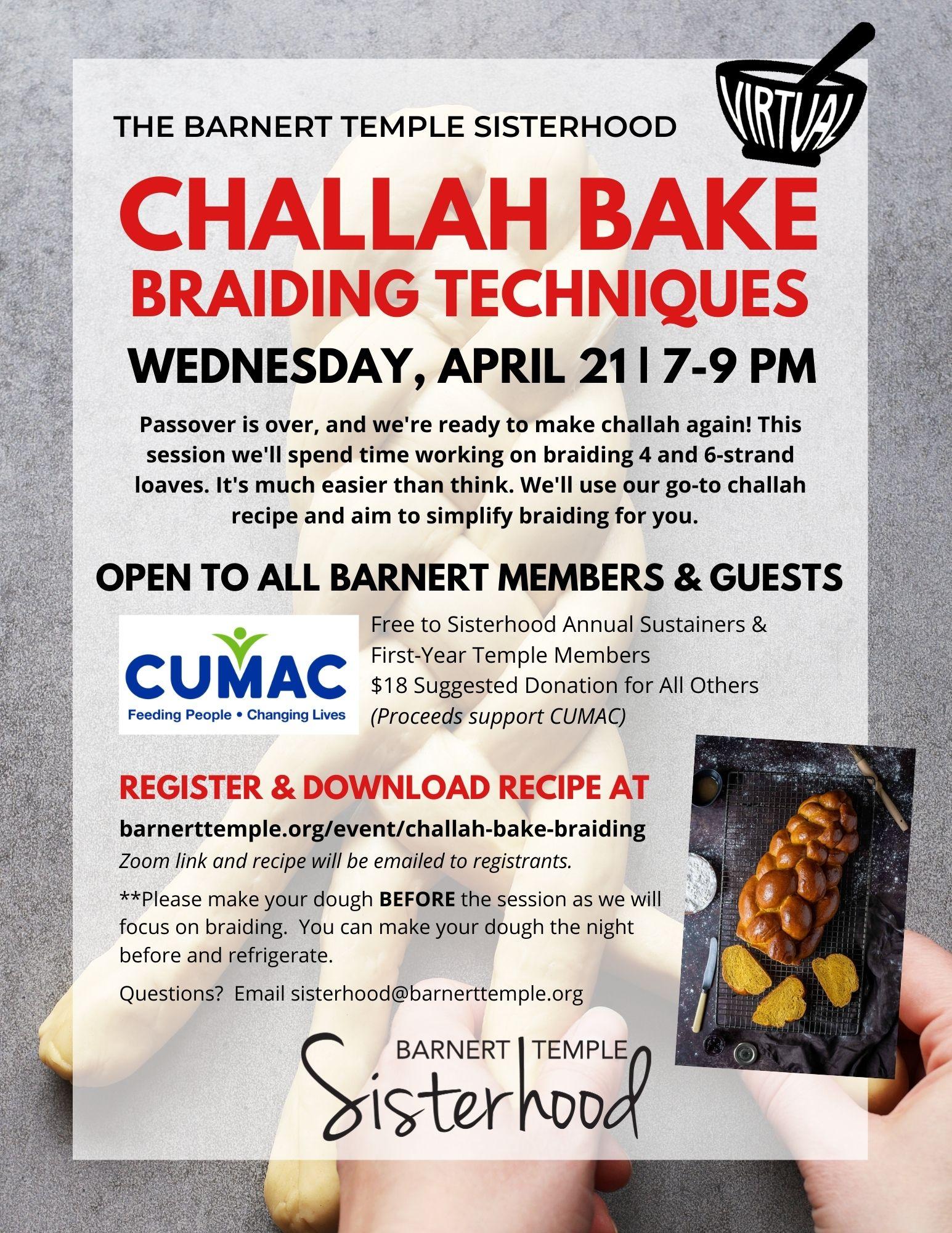 Challah Bake Braiding Techniques