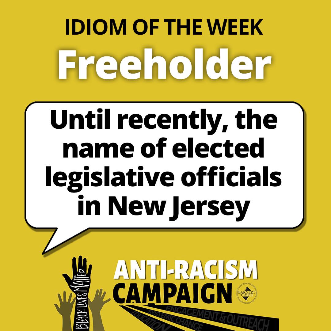 Freeholder Idiom