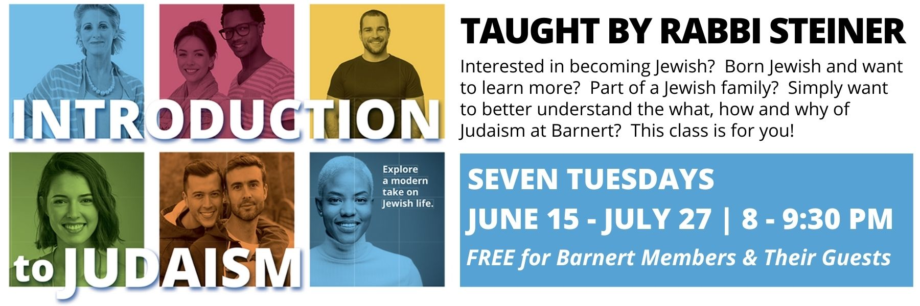 """<a href=""""https://www.barnerttemple.org/event/introtojudaism""""                                     target=""""_blank"""">                                                                 <span class=""""slider_title"""">                                     Next Class:  Tuesday, June 22, at 8 p.m.                                </span>                                                                 </a>                                                                                                                                                                                       <span class=""""slider_description"""">This is a wonderful opportunity to learn about the what, why, and how of Judaism at Barnert Temple.  Advance registration required.  Click above for details.</span>"""