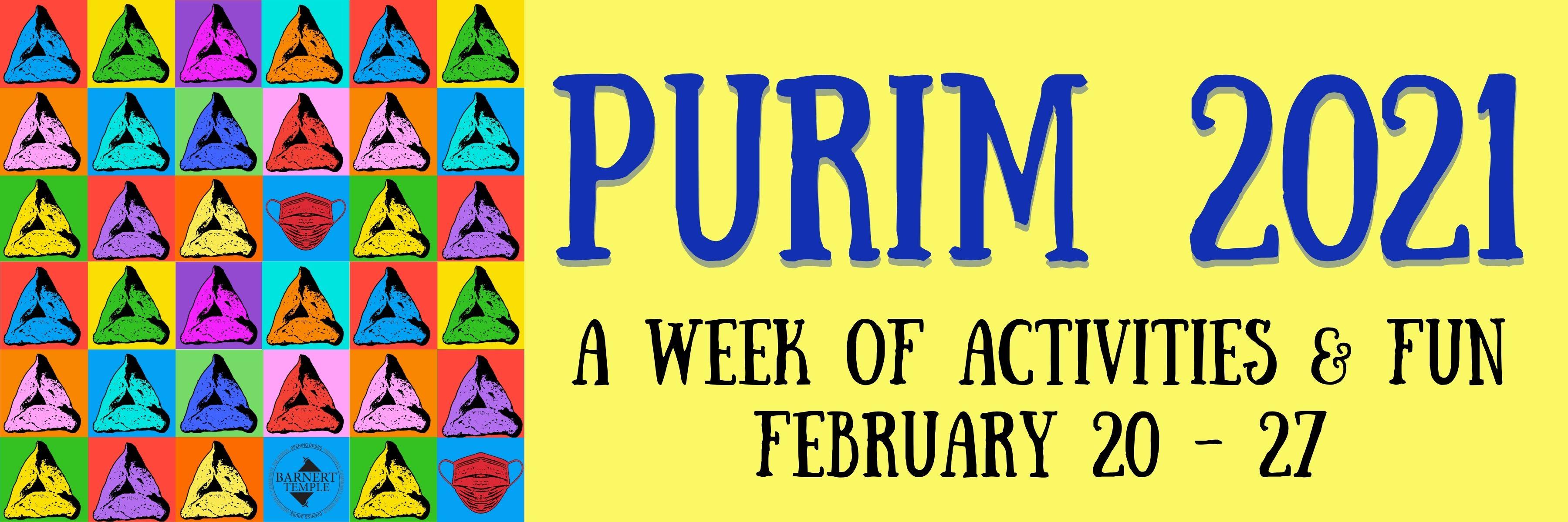 Purim Banner