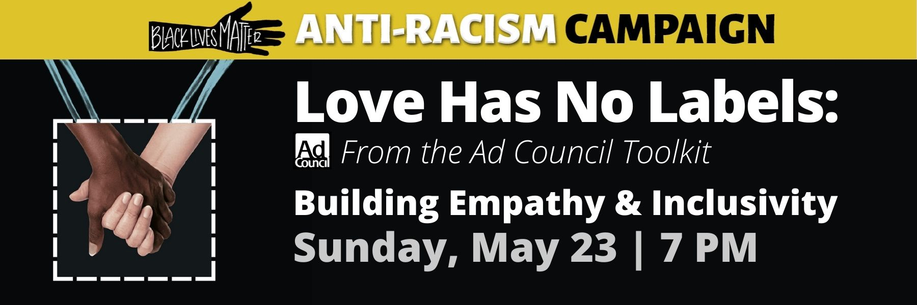 """<a href=""""https://www.barnerttemple.org/form/arc-program-registration-spring21""""                                     target=""""_blank"""">                                                                 <span class=""""slider_title"""">                                     Upcoming Anti-Racism Campaign Program                                </span>                                                                 </a>                                                                                                                                                                                       <span class=""""slider_description"""">LOVE HAS NO LABELS (from the Ad Council Toolkit):  BUILDING EMPATHY & INCLUSIVITY 