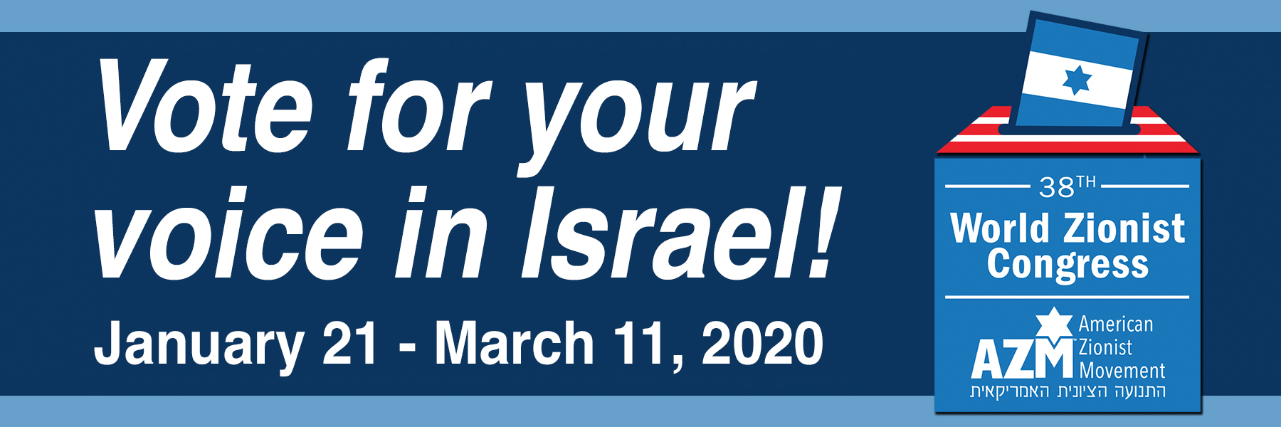 """<a href=""""https://azm.org/elections""""                                     target=""""_blank"""">                                                                 <span class=""""slider_title"""">                                     Vote and Make Your Reform Jewish Voice Heard                                </span>                                                                 </a>                                                                                                                                                                                       <span class=""""slider_description"""">Voting in this election is a significant way to make our voices heard in Israel!  Each and every vote from our congregation – our members – is crucial to maintaining a strong Reform presence. Click above to vote, and check your email for additional information from Rabbi Steiner.</span>"""