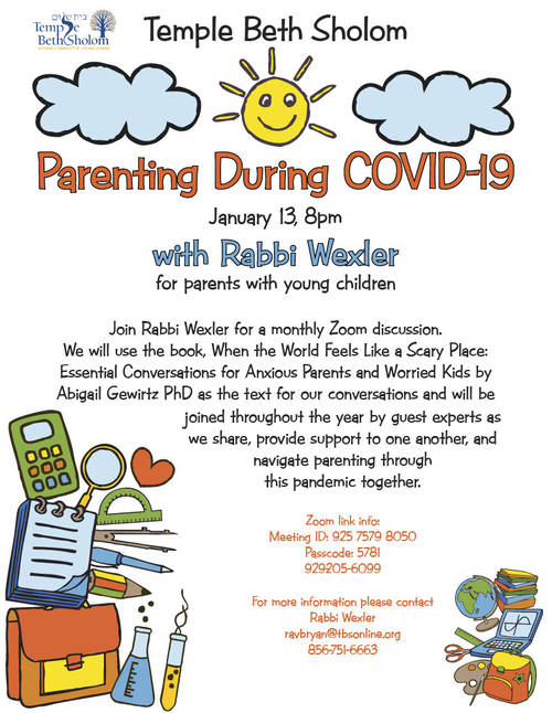 Banner Image for Zoom: Parenting During COVID-19