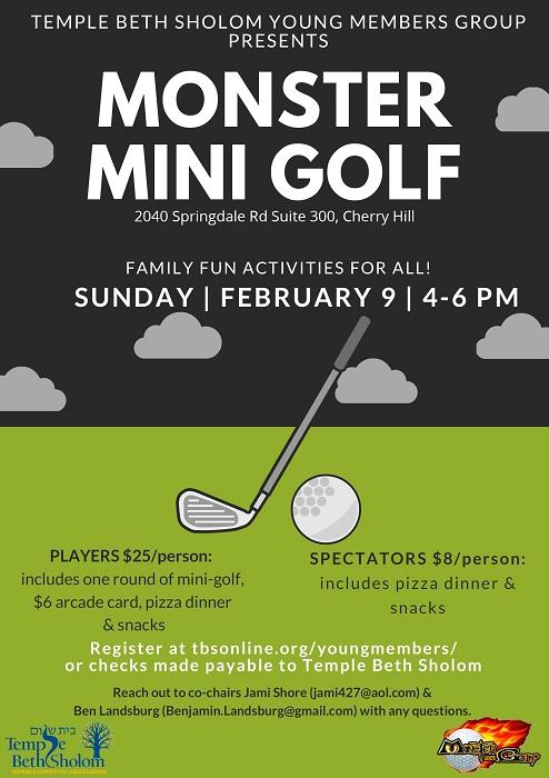 Banner Image for YMG Monster Mini Golf