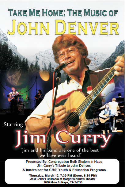 Banner Image for Jim Curry's Tribute to John Denver