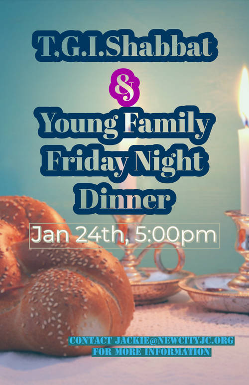 Banner Image for T.G.I. Shabbat and Friday Night Dinner