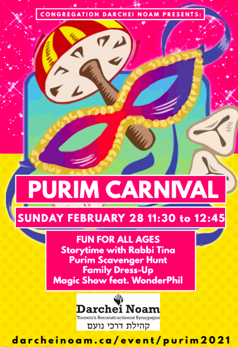 Banner Image for Purim Carnival
