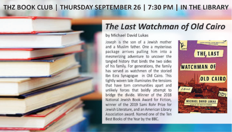 Banner Image for Book Club | The Last Watchman of Old Cairo