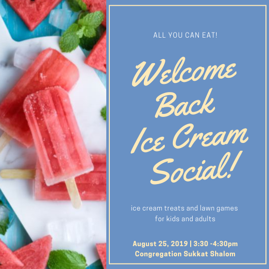 Banner Image for Welcome Back Ice Cream Social