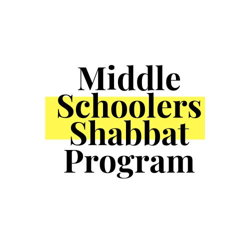 Banner Image for Middle School Shabbat Shiur