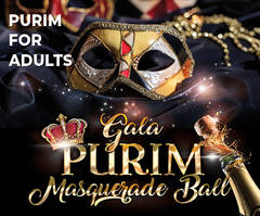 Gala Purim Masquerade Ball