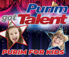 Purim's Got Talent Kids Party