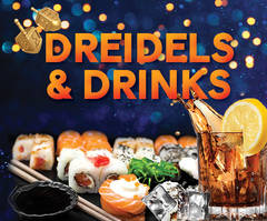 Dreidels and Drinks