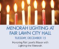 Menorah Lighting at City Hall