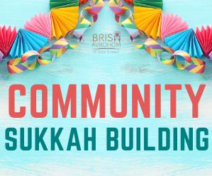 Community Sukkah Building