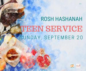 Jteen Rosh Hashanah Service