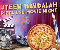 Havdala Pizza and Movie Night