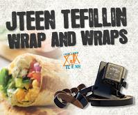 Jteen Tefillin Wrap and Wraps