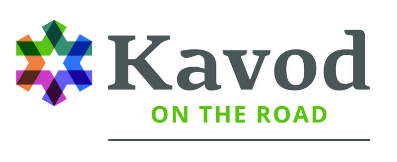 Kavod on the Road logo