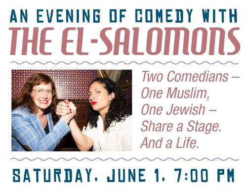 Banner Image for B'nai Havurah's Annual Event: An Evening of Comedy with the El-Salomons
