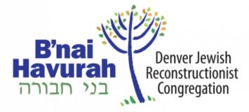 Logo for B'nai Havurah
