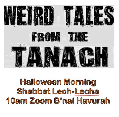 Banner Image for Shabbat on Halloween with Rabbi Evette