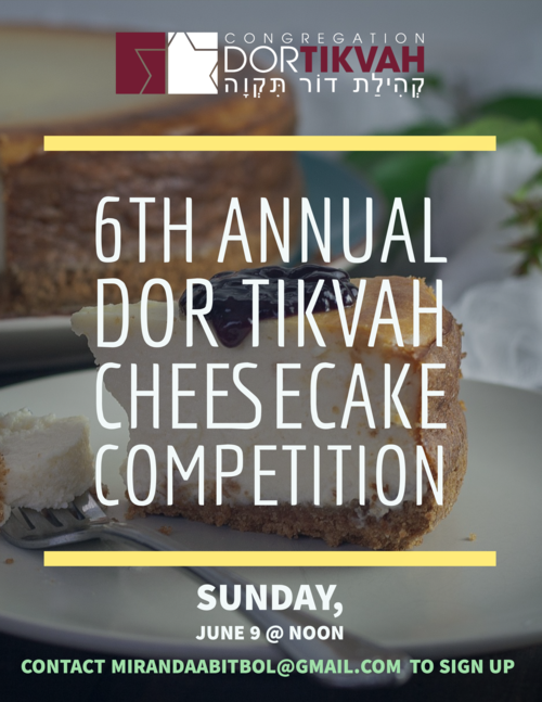 Banner Image for 6th Annual Cheesecake Competition