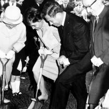 Groundbreaking in 1957