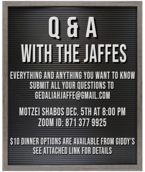 Banner Image for Q & A with Jaffes