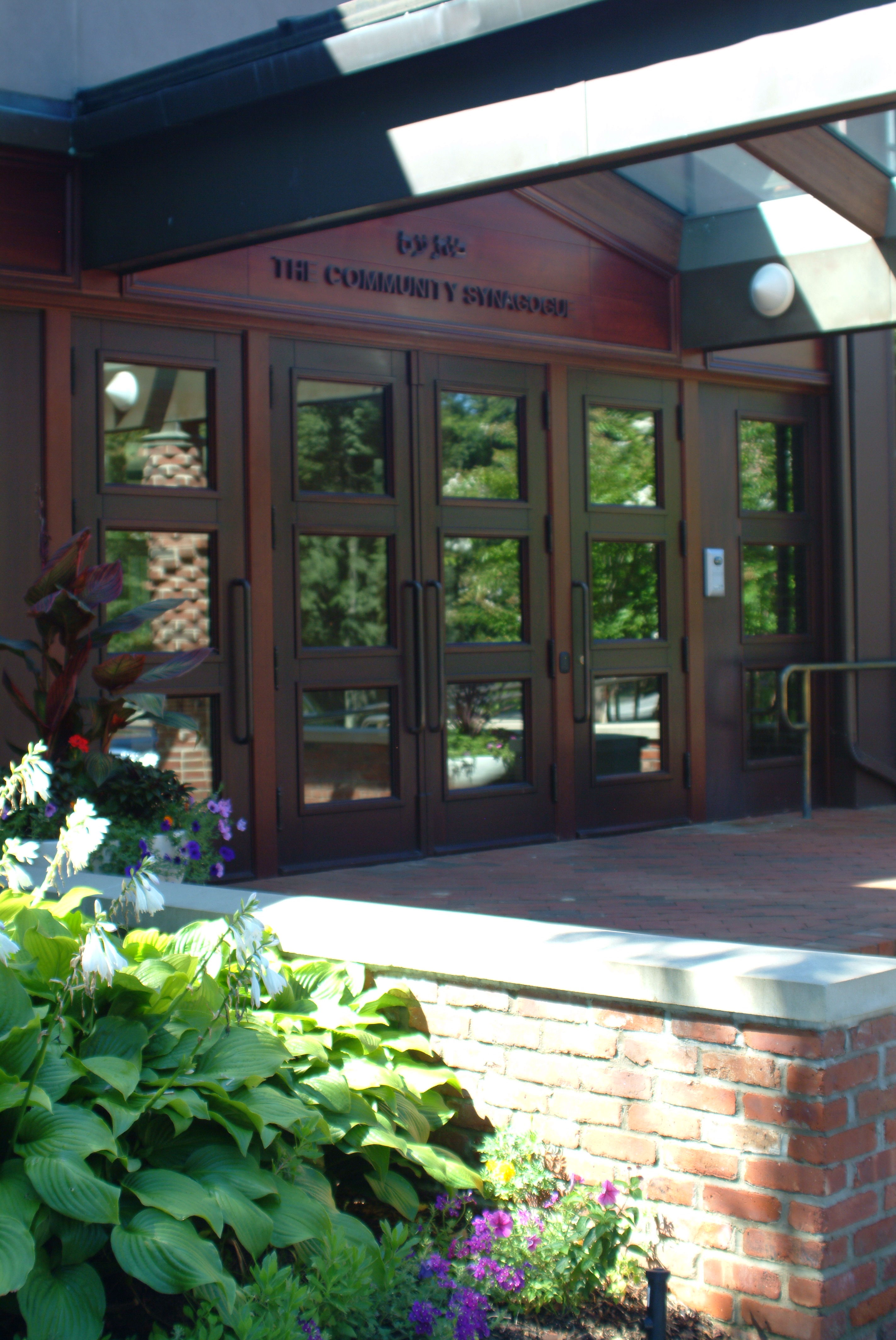 The Community Synagogue Entrance