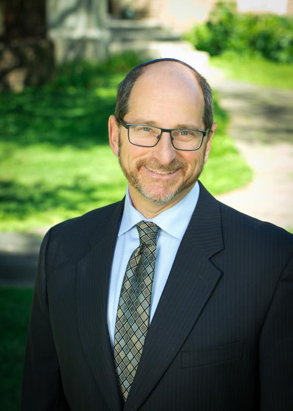 Rabbi Z Color Portrait