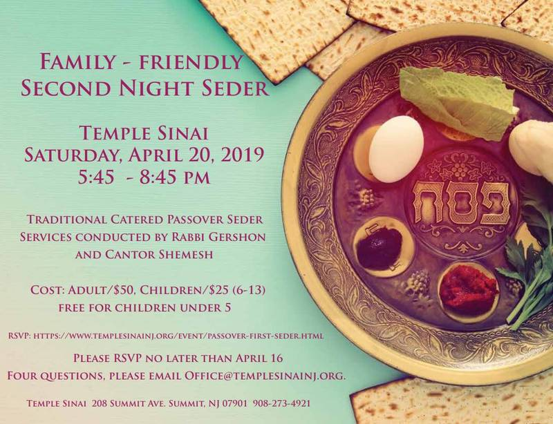 Banner Image for Passover Community Seder