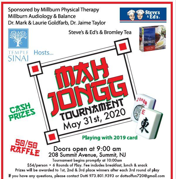 Banner Image for Mah Jong Tournament