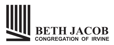 Logo for Beth Jacob Congregation of Irvine