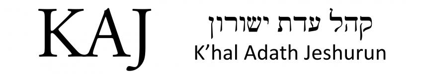 Logo for Khal Adath Jeshurun