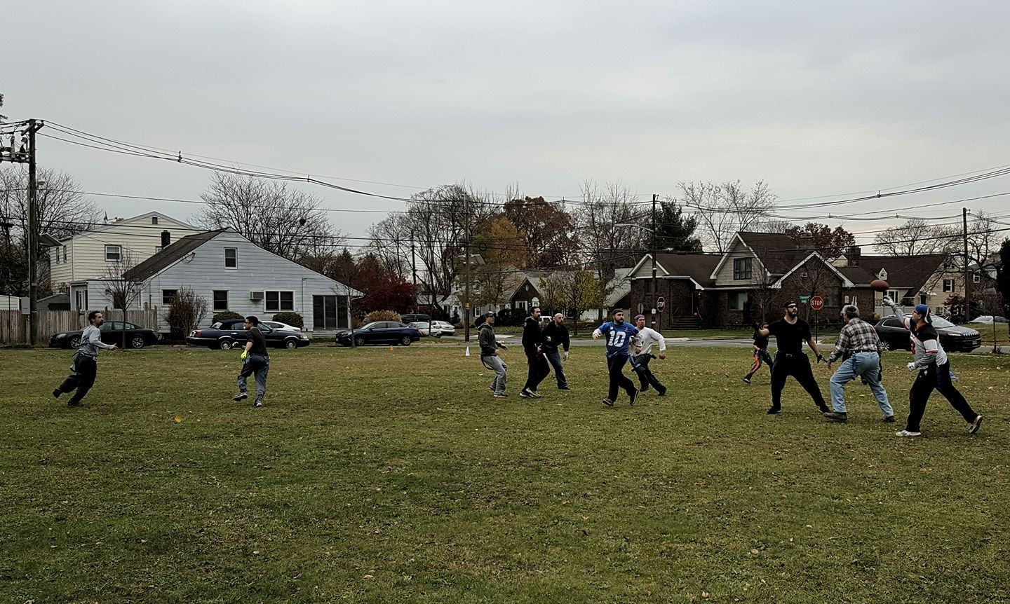 Annual Thanksgiving Turkey Bowl!