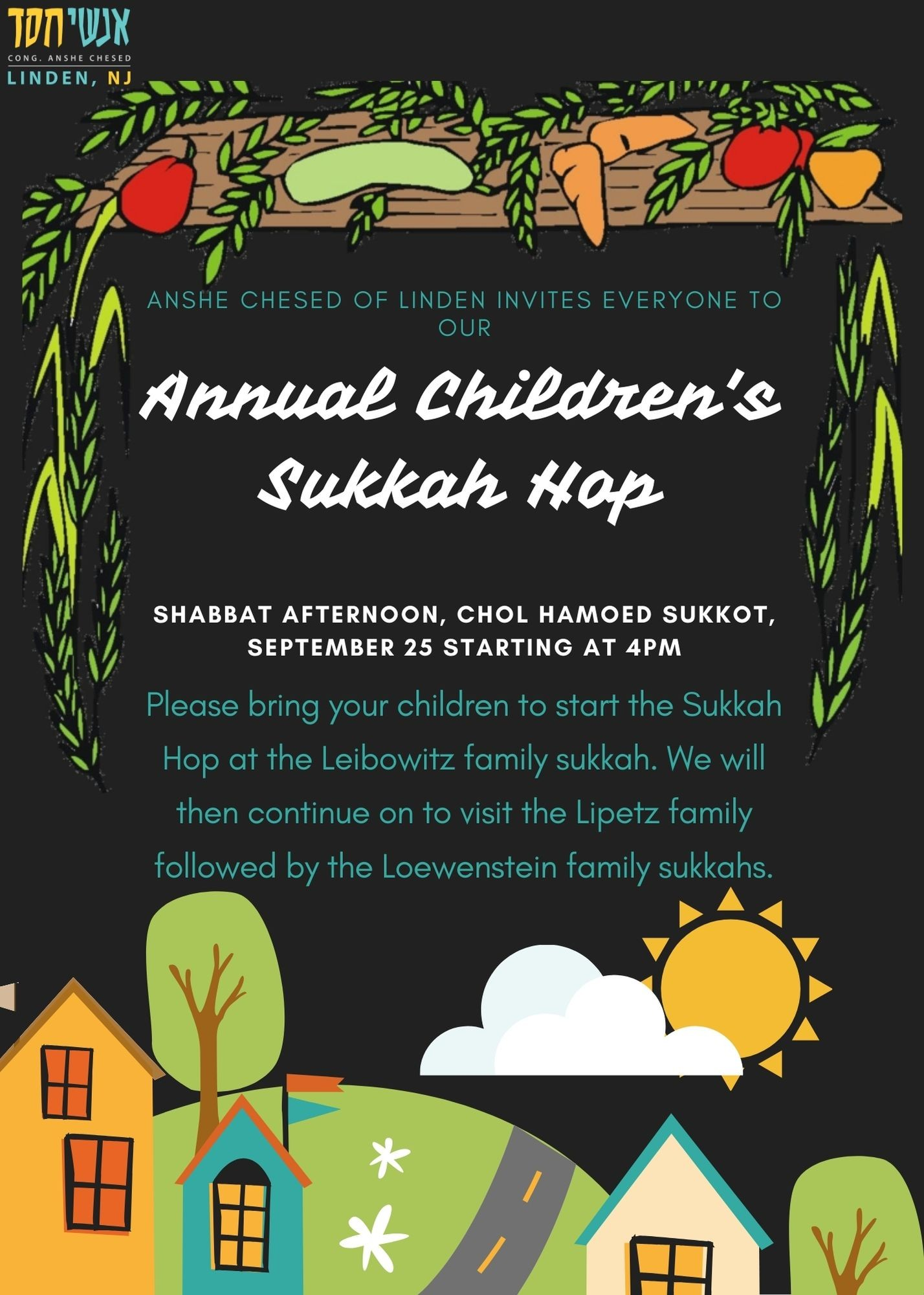 Banner Image for Annual Children's Sukkah Hop
