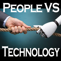 Banner Image for People VS Technology: Who's Winning?