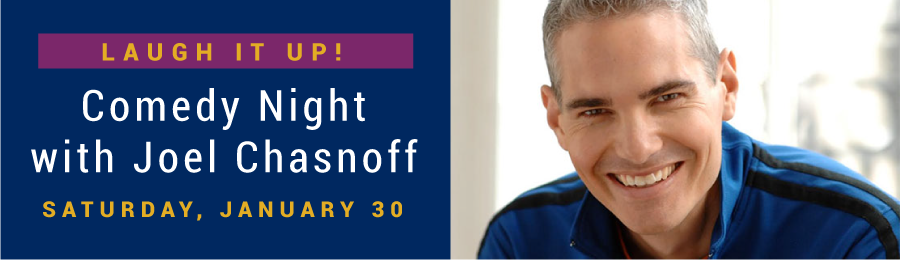 Banner Image for Comedy Night with Joel Chasnoff