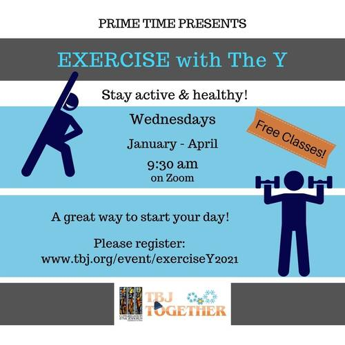 Banner Image for Prime Time- Exercise with the Y