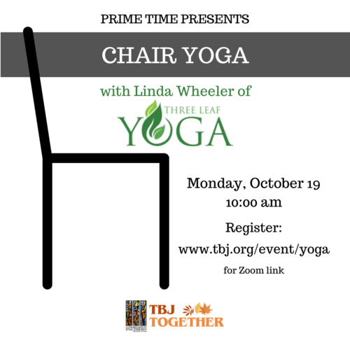 Banner Image for Prime Time- Chair Yoga Class
