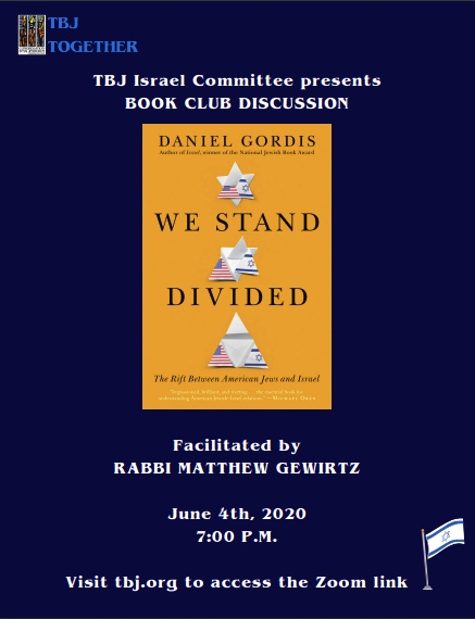 Banner Image for Israel Committee Book Club Discussion