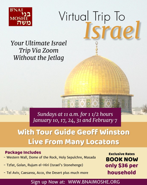 Banner Image for Virtual Israel Tour