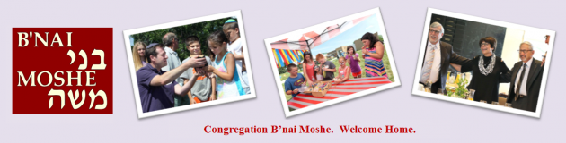 Logo for Congregation B'nai Moshe