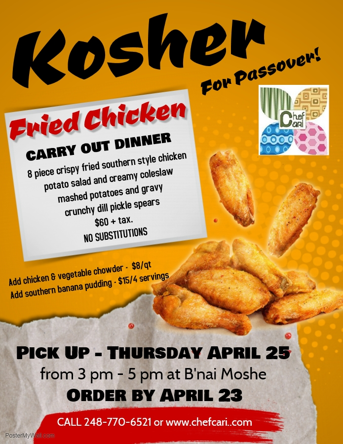 Banner Image for KFC - Kosher Fried Chicken carry Out for Passover!