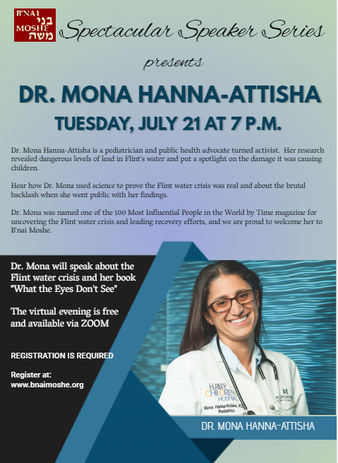 Banner Image for Spectacular Speaker Series featuring Dr. Mona Hanna-Attisha