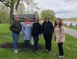 Sisterhood Walk at Washington Park in Albany