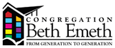 Logo for Congregation Beth Emeth (Albany)