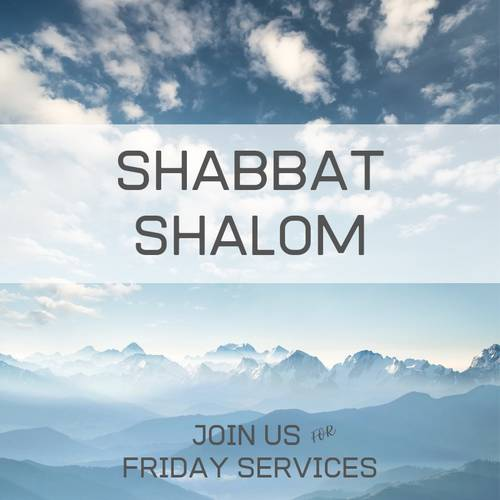 Banner Image for Shabbat services + oneg